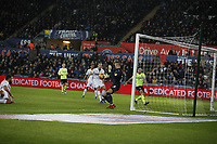 Erwin Mulder of Swansea City  during the Sky Bet Championship match between Swansea City and Sheffield United at the Liberty Stadium, Swansea, Wales, UK. Saturday 19 January 2019<br /> NO SYNDICATION