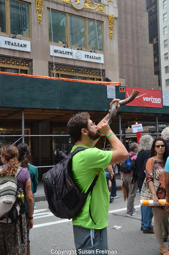 Photo from the People's Climate March, New York City, September 21, 2014
