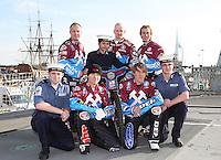 Lakeside Hammers on HMS Kent