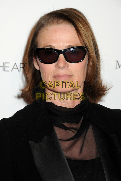 "LISA LOVE.attends the Art of Elysium 4th Annual Charity Gala ""Heaven"" held at The Annenberg Building at The California Science Center in Los Angeles, California, USA, January 15th 2011..portrait headshot black sunglasses sheer see thru through .CAP/ADM/BP.©Byron Purvis/AdMedia/Capital Pictures."