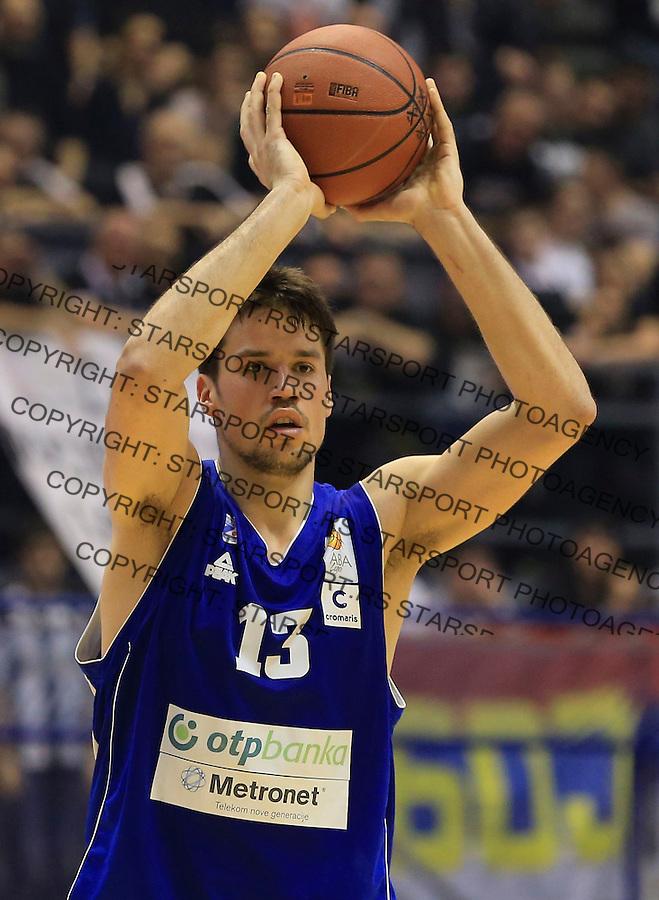 Kosarka ABA League season 2014-2015<br /> Partizan v Zadar<br /> Josip Sobin<br /> Beograd, 15.03.2015.<br /> foto: Srdjan Stevanovic/Starsportphoto&copy;