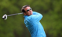 Jarmo Sandelin - BMW PGA Golf Practice at Wentworth Golf Course - 21/05/13 - MANDATORY CREDIT: Rob Newell/TGSPHOTO - Self billing applies where appropriate - 0845 094 6026 - contact@tgsphoto.co.uk - NO UNPAID USE