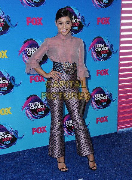 13 August  2017 - Los Angeles, California - Vanessa Hudgens. Teen Choice Awards 2017 held at the Galen Center in Los Angeles. <br /> CAP/ADM/BT<br /> &copy;BT/ADM/Capital Pictures