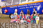 The children from Kiddies Paradise Cahersiveen had their graduation on Wednesday and were treated to a trip on Valentia Harbour Tours down the harbour on Cahersiveen's unique boat with wheels pictured here at Manix Point are front l-r; Cliona O'Shea, Aerona O'Connor, Amy Quirke, Shaunagh O'Shea, Shauna Walsh, Amanda Sheehan, Donas Kairaitus, middle l-r; Cillian O'Connell, Ben O'Donoghue, Emma Quigley, Charley Cooke, Martha O'Connell, Conor O'Shea, Martin O'Mahony, Kenneth O'Neill, Clara Daly, Arnas Balzaravicius, Gemma Moran, Julia Garvey, Brian Quinlain, Ella Cooke, back l-r; Marian O'Connell, Deirdre O'Connor, Mairead Kennedy & Abina O'Connor