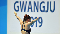 Chiara Pellacani ITA Italy <br /> Gwangju South Korea 18/07/2019<br /> Women's 3m Springboard  Preliminary <br /> 18th FINA World Aquatics Championships<br /> Nambu University Aquatics Center  <br /> Photo © Andrea Staccioli / Deepbluemedia / Insidefoto