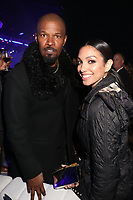NEW YORK, NY - MAY 14, 2019 Jamie Foxx &amp; Corrine Foxx attend the 2019 Fox Upfront After Party at Wollman Rink in Central Park, May 13, 2019 in New York, NY. <br /> CAP/MPIWG<br /> &copy;WG/MPI/Capital Pictures
