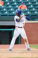 Darnell Sweeney (9) of the Chattanooga Lookouts at bat against the Montgomery Biscuits at AT&T Field on July 23, 2014 in Chattanooga, Tennessee.  The Lookouts defeated the Biscuits 6-5. (Brian Westerholt/Four Seam Images)