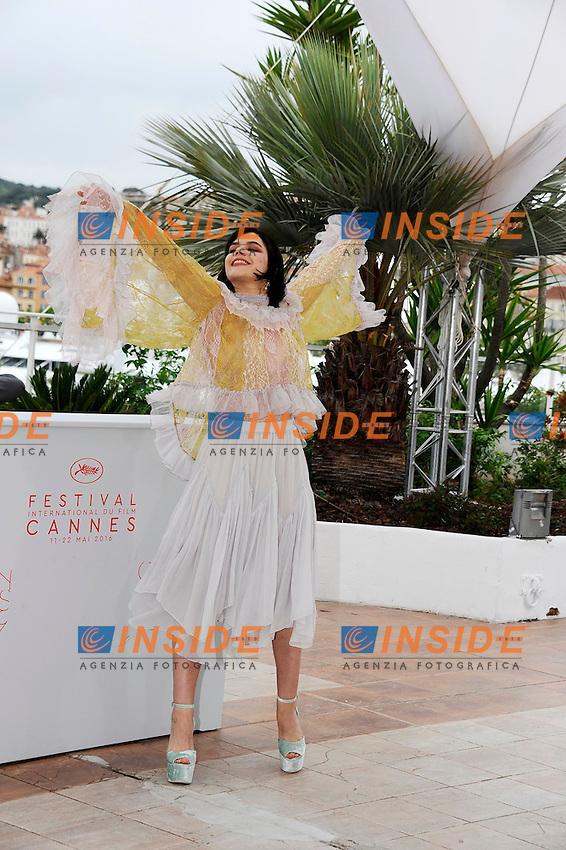 Soko<br /> Festival di Cannes 2016 <br /> Foto Panoramic / Insidefoto