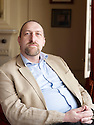 Andrew Lane,writer and author of a new series of Young Sherlock Holmes books at The Oxford Literary Festival 2010.CREDIT Geraint Lewis