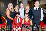 St Louie Nursing Home enjoying their Christmas party in the Ashe Hotel on Saturday<br /> Seated l to r: Troy Baitson and Megan Hill.<br /> Back l to r: Pauline Baitson, Claudia Lonergan, John Breen, Evonne Maher and Johnny Kelly.