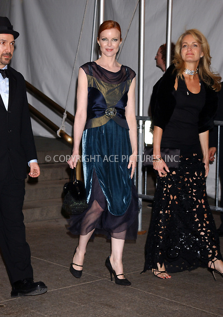 WWW.ACEPIXS.COM . . . . . ....NEW YORK, MAY 2, 2005......Marcia Cross exiting The Costume Institute Gala Celebrating Chanel at the Metropolitan Museum of Art.....Please byline: KRISTIN CALLAHAN - ACE PICTURES.. . . . . . ..Ace Pictures, Inc:  ..Craig Ashby (212) 243-8787..e-mail: picturedesk@acepixs.com..web: http://www.acepixs.com