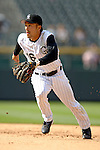 10 September 2006: Kazuo Matsui, second baseman for the Colorado Rockies, in action against the Washington Nationals. The Rockies defeated the Nationals 13-9 at Coors Field in Denver, Colorado...Mandatory Photo Credit: Ed Wolfstein.