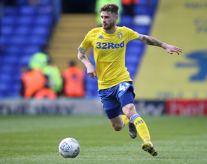 Leeds United's Mateusz Klich<br /> <br /> Photographer Mick Walker/CameraSport<br /> <br /> The EFL Sky Bet Championship - Birmingham City v Leeds United - Saturday 6th April 2019 - St Andrew's - Birmingham<br /> <br /> World Copyright © 2019 CameraSport. All rights reserved. 43 Linden Ave. Countesthorpe. Leicester. England. LE8 5PG - Tel: +44 (0) 116 277 4147 - admin@camerasport.com - www.camerasport.com