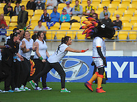 141130 A-League Football - Wellington Phoenix v Melbourne City
