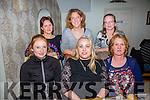 Carol Regan from Ardfert who is leaving the Ardfert Brownies having a farewell meal at Bella Bia's with other members on Friday night. Front l-r Jane Sweeney, Carol Regan and Mary Sweeney. Back l-r Kirsty Novak, Rachel Fitzgerald and Kate Brosnan