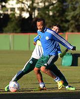 SÃO PAULO,SP, 29 julho 2013 -  Wesley durante treino do Palmeiras no CT da Barra funda  na zona oeste de Sao Paulo, onde a equipe a equipe se prepara para enfrentar o Icasa em partida valida pela serie B do campeonato brasileiro. FOTO ALAN MORICI - BRAZIL FOTO PRESS