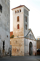 Church of the Assumption, built in the Manueline style of late Gothic architecture, 16th century, Portuguese Fortified city of Mazagan, El Jadida, Morocco. El Jadida, previously known as Mazagan (Portuguese: Mazag√£o), was seized in 1502 by the Portuguese, and they controlled this city until 1769. Picture by Manuel Cohen