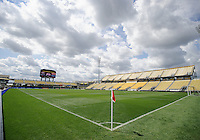 Columbus, Ohio - Sunday, September 9, 2012: The USA Men's National soccer team practices at Columbus Crew Stadium in anticipation for it's re-match with Jamaica.