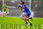 Bryan Sheehan South Kerry in Action against Flor O'Sullivan Kenmare in the County Senior Football Semi Final at Fitzgerald Stadium Killarney on Sunday.