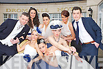 Ladies and gents from Norma O'Donoghue's agency model some of the 2012 trends for wedding dresses at the Dromhall Hotel wedding fair on Sunday front row l-r: Joanne O'Connor. Victoria Tynan, Rieleen Wessels. Back row: Adrian O'Sullivan, Aoife Begley, Jen Lenihan, Mags Kelliher and Alan Dineen (Formally Yours suits)......
