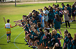 Batonbearer Scott Guerini carrying the Baton at Quinns Baptist College as the Queen's Baton Relay Visited Quinns Rocks. From 25 January to 2 March 2018, the Queen's Baton will visit every other state and territory before Queensland. As the Queen's Baton Relay travels the length and breadth of Australia, it will not just pass through, but spend quality time in each community it visits, calling into hundreds of local schools and community celebrations in every state and territory. The Gold Coast 2018 Commonwealth Games (GC2018) Queen's Baton Relay is the longest and most accessible in history, travelling through the Commonwealth for 388 days and 230,000 kilometres. After spending 100 days being carried by approximately 3,800 batonbearers in Australia, the Queen's Baton journey will finish at the GC2018 Opening Ceremony on the Gold Coast on 4 April 2018.