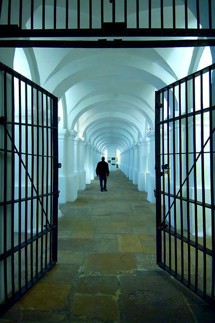 Colombia, Bogota, National Museum Of Colombia, Prison Architecture, Prison Until 1946, Built In 1874, Biggest And Oldest Museum In Colombia