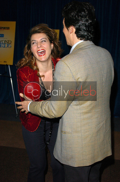 Nia Vardalos and Alexander Payne<br />