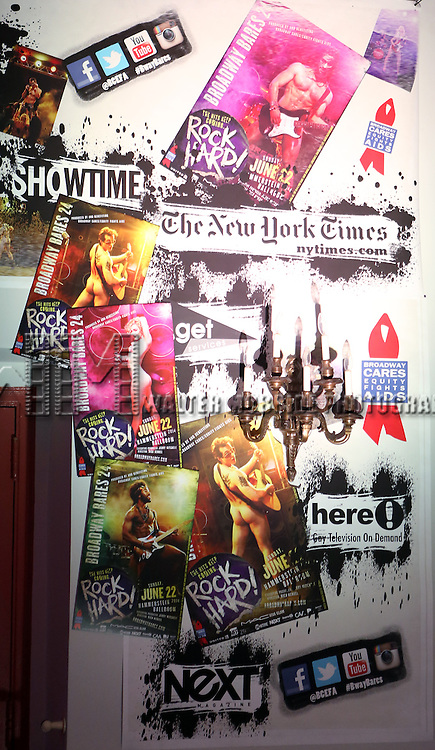 Atmosphere at Broadway Cares/Equity Fights AIDS' <br /> &quot;Broadway Bares, Rock Hard!&quot; at Hammerstein Ballroom June 22, 2014 in New York City.