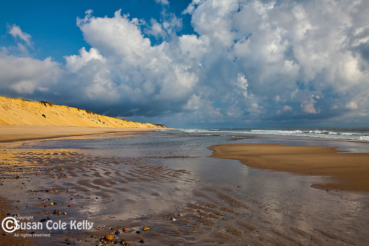 Morning on Marconi Beach, Cape Cod National Seashore, Wellfleet, MA, USA