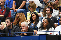 FLUSHING NY- SEPTEMBER 07: Meghan, Duchess of Sussex is seen watching Serena Williams Vs Bianca Andreescu during the women's finals on Arthur Ashe Stadium at the USTA Billie Jean King National Tennis Center on September 7, 2019 in Flushing Queens   <br /> CAP/MPI04<br /> ©MPI04/Capital Pictures