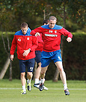 David Weir leaping about at training