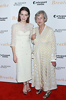 NEW YORK, NY - OCTOBER 9: Claire Foy and Diana Cavendish  at the NY Special Screening of BREATHE at AMC Loews Lincoln Square 13 on October 9, 2017 in New York City. <br /> CAP/MPI99<br /> &copy;MPI99/Capital Pictures