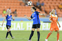 Houston, TX - Sunday August 13, 2017:  Christina Gibbons during a regular season National Women's Soccer League (NWSL) match between the Houston Dash and FC Kansas City at BBVA Compass Stadium.