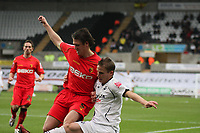 Pictured: Mark Gower of Swansea City<br /> Re: Coca Cola Championship, Swansea City Football Club v Watford at the Liberty Stadium, Swansea, south Wales 09 November 2008.<br /> Picture by Dimitrios Legakis Photography (Athena Picture Agency), Swansea, 07815441513