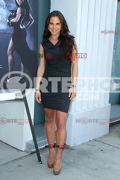 Kate del Castillo during the PETA billboard 'Fiercely Protect Your Animals' unveiling ceremony at The Bob Barker Building on May 10, 2012 in Los Angeles, California. ©mpi27/MediaPunch Inc