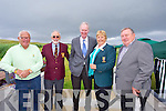 Billy Brown, John Fox, Arthur Spring, Mary McKenna, Denis O'Sullivan at the Official opening of the New Clubhouse at Castlegregory golf course on Saturday.