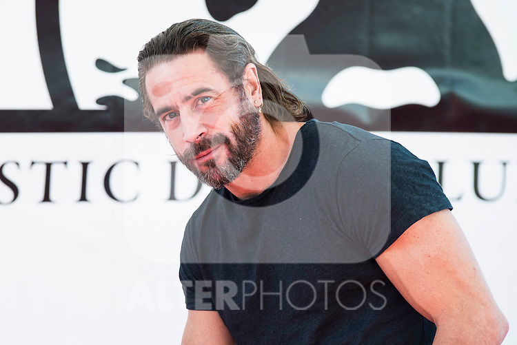 "Ola Rapace pose to the media during the presentation of the film ""Ares"" at Festival de Cine Fantastico de Sitges in Barcelona. October 11, Spain. 2016. (ALTERPHOTOS/BorjaB.Hojas)"