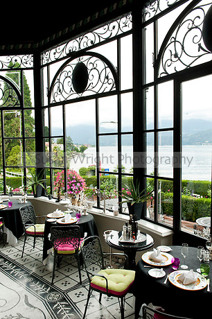 Ristorante I Mori, Villa Palazzo Aminta Hotel, Stresa, Lago Maggiore, Italy