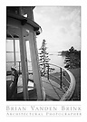 FROM THE OBSERVATION TOWER<br /> The Anchorage<br /> Seal Harbor, Maine<br /> Wallace K. Harrison, Architect, Built 1939 &copy; Brian Vanden Brink, 1989