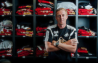 Thursday 31 July 2014<br /> Pictured: Garry Monk<br /> Re:  Garry Monk, Manager of Swansea City