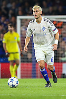 Aleksandar Dragovic of Dynamo Kyiv during the UEFA Champions League Group match between Chelsea and Dynamo Kyiv at Stamford Bridge, London, England on 4 November 2015. Photo by David Horn.