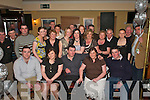 Patricia and Jeremy Moynihan Knocklebede, Kilcummin (seated centre) was surprised when they walked into the Old Killarney Inn, Aghadoe, Killarney as their family and friends had gathered to celebrate their 25th wedding anniversary     Copyright Kerry's Eye 2008