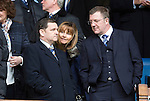 St Johnstone v Aberdeen...13.04.14    William Hill Scottish Cup Semi-Final, Ibrox<br /> Chairman Steve Brown and his wife<br /> Picture by Graeme Hart.<br /> Copyright Perthshire Picture Agency<br /> Tel: 01738 623350  Mobile: 07990 594431