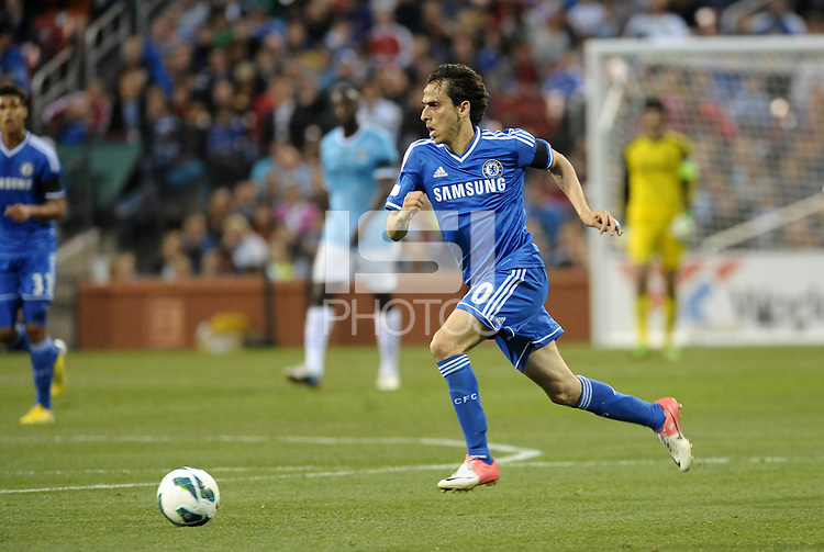 Yossi Benayoun (30) Chelsea in action..Manchester City defeated Chelsea 4-3 in an international friendly at Busch Stadium, St Louis, Missouri.