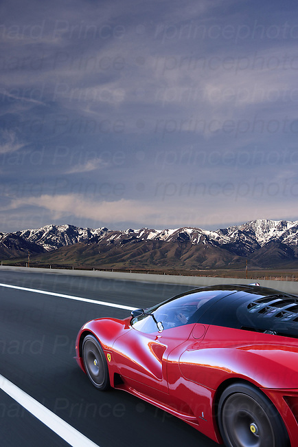 Ferrari P4/5 created from a Pininfarina body and an Enzo chassis.