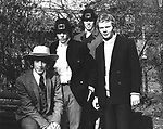 Bee Gees 1967 Robin Gibb, Maurice Gibb, Barry Gibb and Colin Peterson..© Chris Walter..