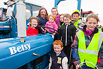 Helping out with the Tractor Run in Waterville on Sunday in aid of CUH Oncology Unit were front l-r; Jack O'Sullivan, Brianna O'Sullivan, back l-r; Catherine O'Connell, Kelly O'Sullivan, Samantha O'Sullivan, Rebecca O'Sullivan, Clara O'Sullivan, Luke Fitzgerald & Killian Lynch.