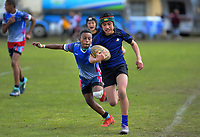 Rugby sevens. 2019 AIMS games at Blake Park in Mount Maunganui, New Zealand on Wednesday, 11 September 2019. Photo: Dave Lintott / lintottphoto.co.nz