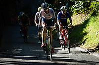 Picture by Richard Blaxall/SWpix.com - 30/09/2018 - Cycling 2018 Road Cycling World Championships Innsbruck-Tirol, Austria - Men's Elite Road Race - Hugh John Carty of Great Britain on the Ride to Höll (Hell Climb)