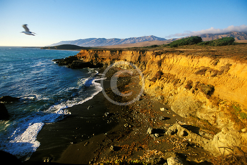 California, San Luis Obispo County, Coast south of Ragged Point